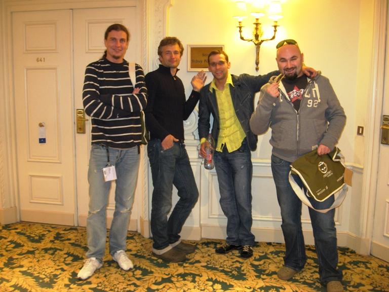 Foto naujienai: L. Zareckui ir G. Šapiro naktis Kanų viešbutyje atsiėjo 4000 Lt.