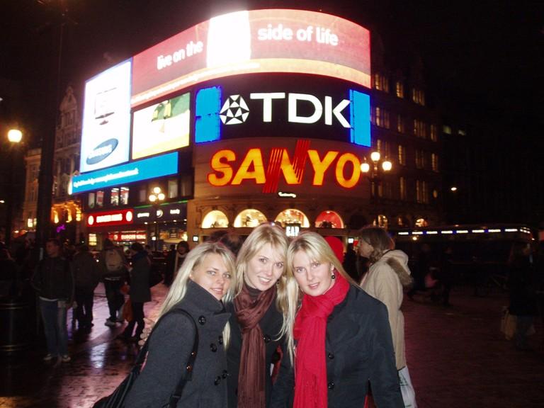 Foto naujienai: Natalija Zvonkė pirmą kartą apsilankė Londone