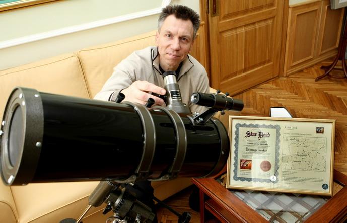 Foto naujienai: Kazys Paulikas pamatys savo žvaigždę