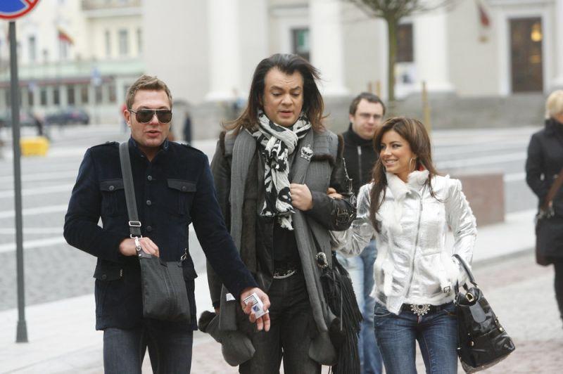 Foto naujienai: Filipas Kirkorovas sutiktas lyg bajoras