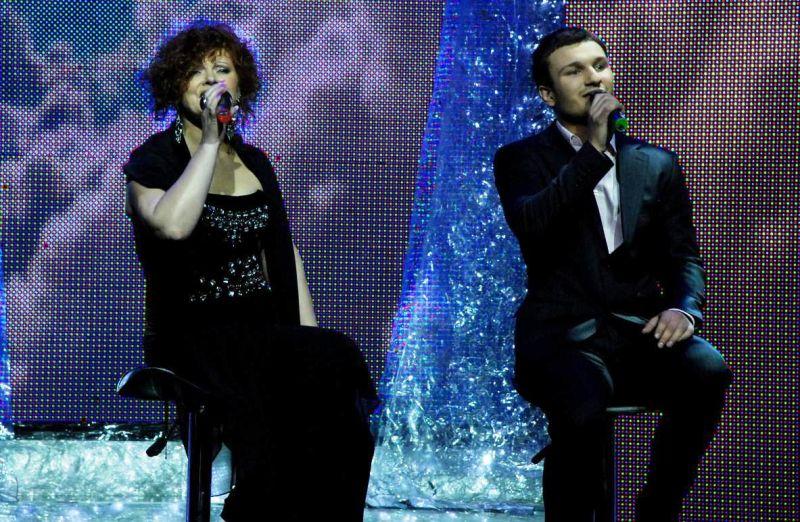 Foto naujienai: Naujasis žvaigždžių duetas – V. Baumila ir verslininkė V. Buožytė