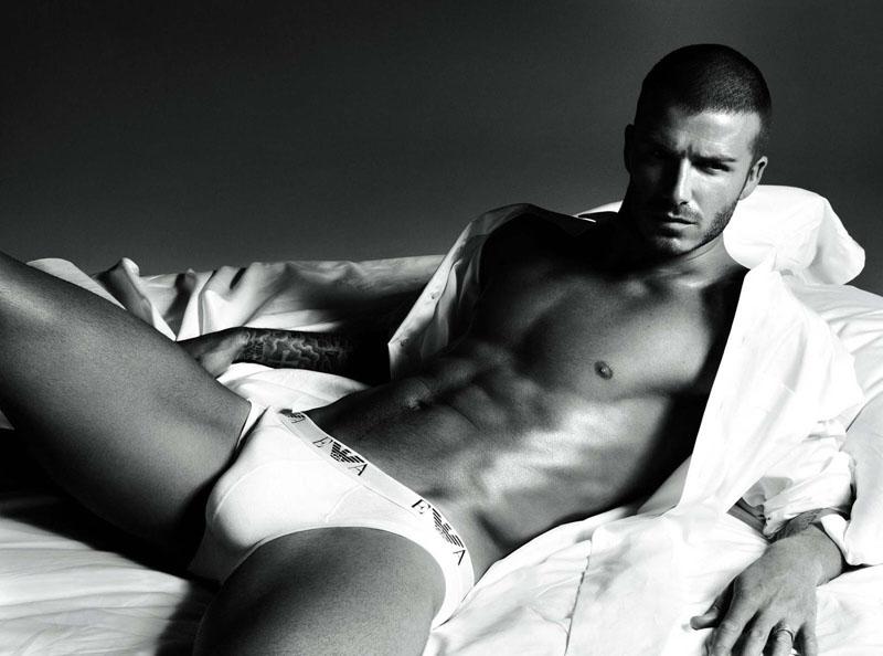 Foto naujienai: Beckhamas reklamuoja savo vyrišką pasididžiavimą