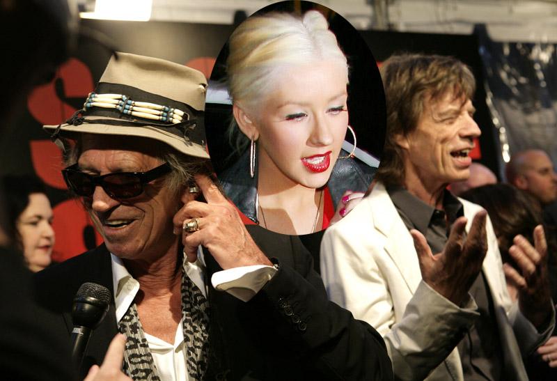 Foto naujienai: Rolling Stones būgnininkas nepažino Christinos Aguileros