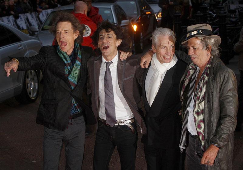 """Foto naujienai: Didžiausias roko koncerto-filmo debiutas: """"Rolling Stones"""" ar """"U2""""?"""
