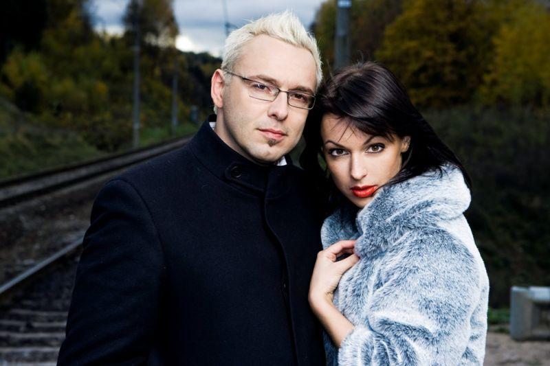 Foto naujienai: Egmontas Bžeskas ir Oksana Zlatkovaitė: išsiskyrė