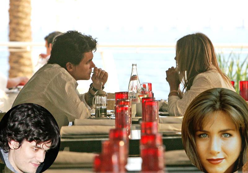 Foto naujienai: Ar teisingi gandai apie Johną Mayerį ir Jennifer Aniston?