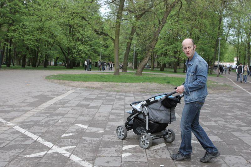 Foto naujienai: Markas Šliamovičius: sūnus - geriausia draugija