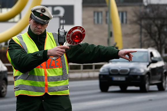 Vokietijos policininkas