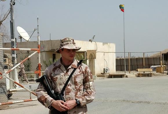 Lietuvos karys Irake