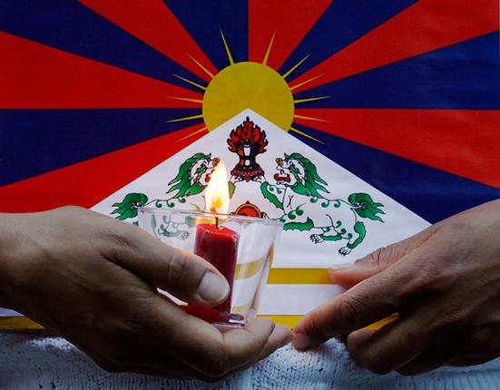 "REUTERS/""Scanpix"" nuotr./Akcija Tibetui remti"