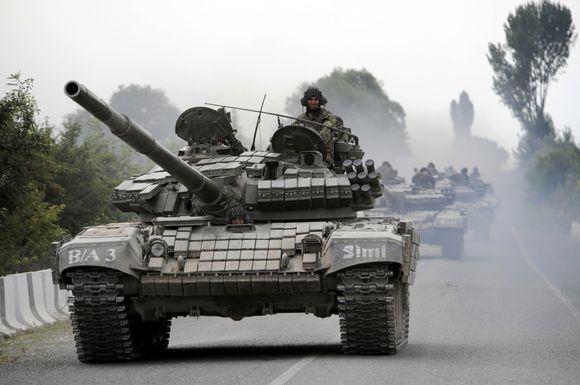 Scanpix nuotr./Konfliktas Osetijoje