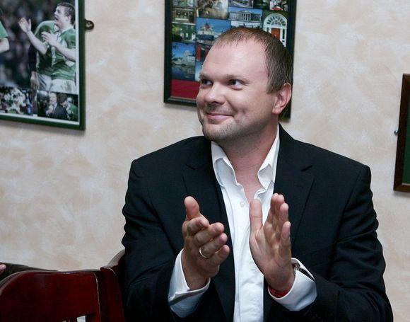 Serialo prodiuseris Kristupas Krivickas
