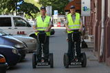 """Dienraščio """"15 minučių"""" nuotr./Naudodami riedžius, pareigūnai per tą patį laiką gali patruliuoti didesnėje teritorijoje."""