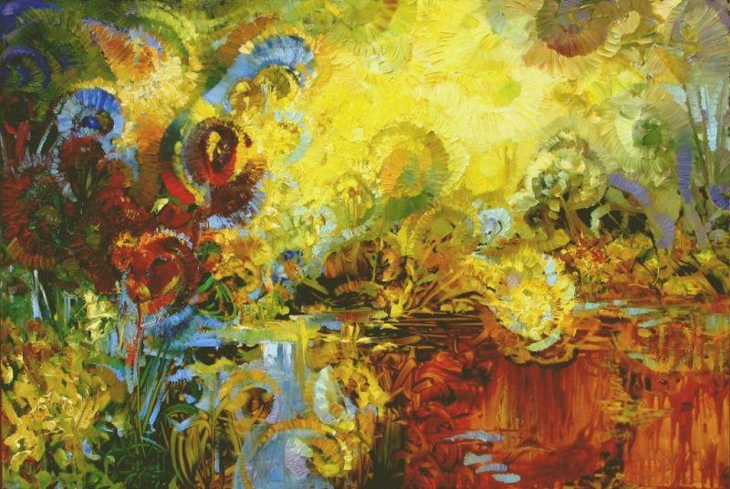 """Atidaromas XIV tarptautinis ekspresionistinės tapybos pleneras """"Nidos ekspresija""""."""