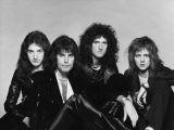 Scanpix nuotr./Grupės Queen nariai: gitaristas Brianas May, būgnininkas Rogeris Tayloras, gitaristas Johnas Deaconas (bosinė gitara), vokalistas Freddie Mercury