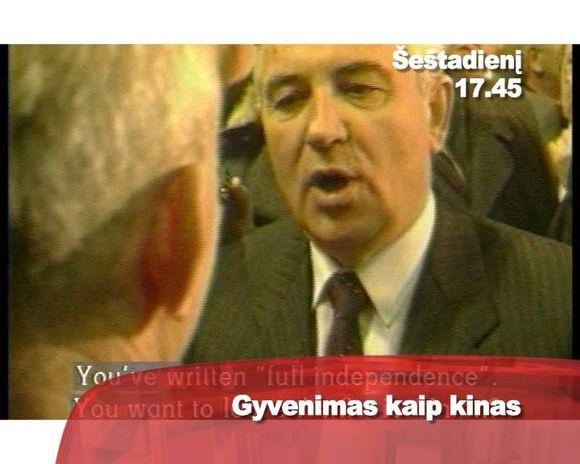 Michailas Gorbačiovas.