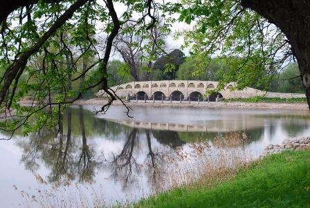 L.Grybienės nuotr./Pakruojo dvaro tiltas