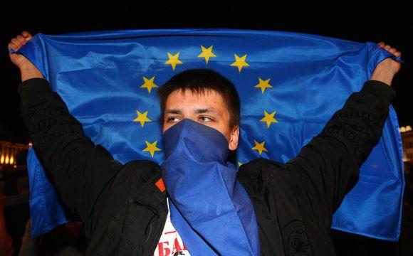 Protestas Minsko gatvėse