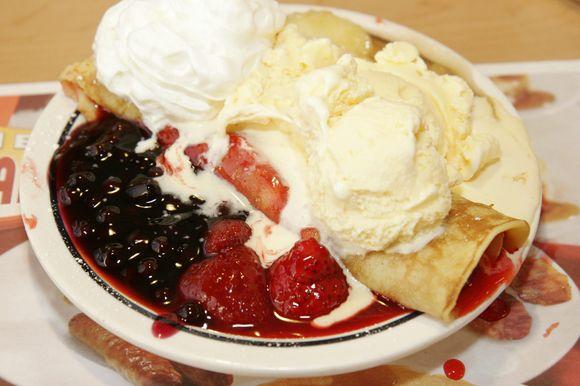 Super kaloringai skanus ir riebus desertas
