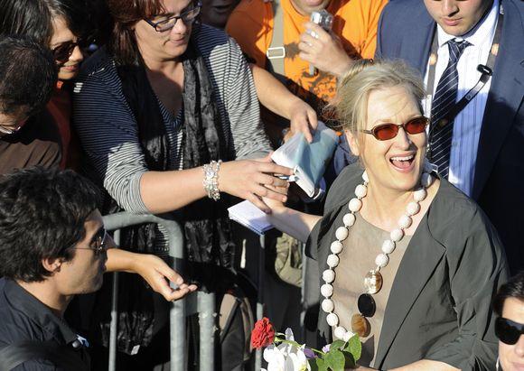 Aktorė Meryl Streep San Sebastiano kino festivalyje