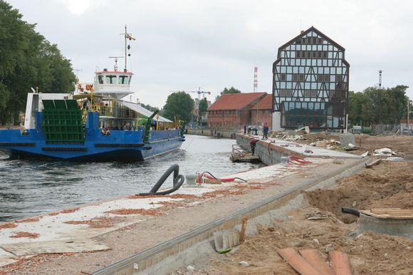Klaipėdos meras viliasi, kad kitų metų šalies biudžete bus rasta lėšų Danės upės krantinių rekonstrukcijos užbaigimui.