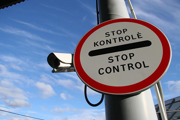 Stop - kontrolė