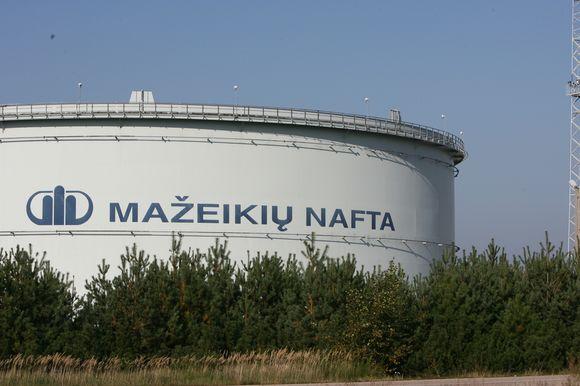 Iš Mažeikių į Klaipėdos uostą planuojama nutiesti vamzdyną naftos transportavimui.