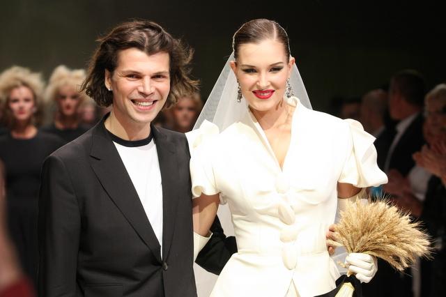 Dizaineris Juozas Statkevičius pristatė naują drabužių kolekciją.