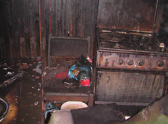 Sudegusi lauko virtuvė