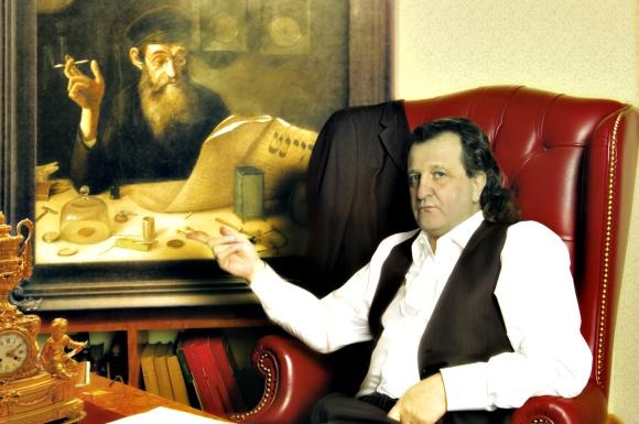 Š.Kalmanovičius prabangiame biure, Maskvoje