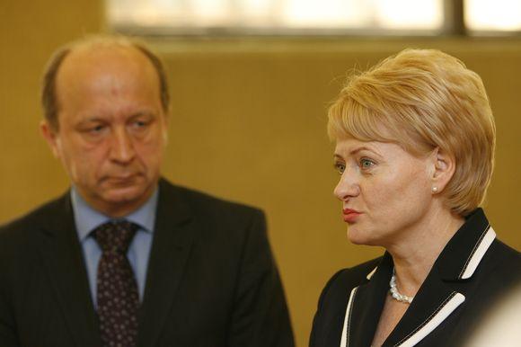 Grybauskaitė ir Kubilius