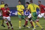 D.Šemberas atstovauja Lietuvos rinktinei Pasaulio čempionato atrankos rungtynėse su Austrija.