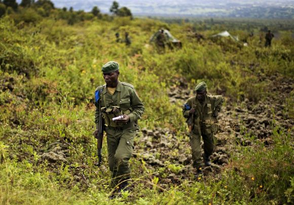 Demokratinės Kongo Respublikos kariai