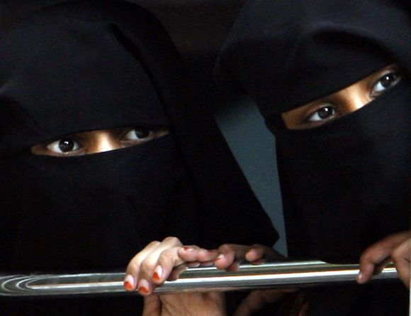 Musulmonės mergaitės