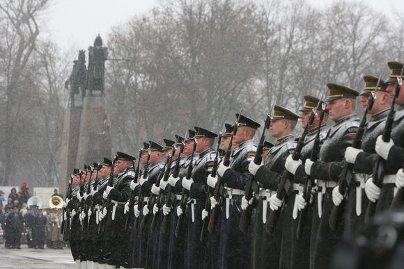 Minimos Lietuvos kariuomenės atkūrimo 90-osios metinės
