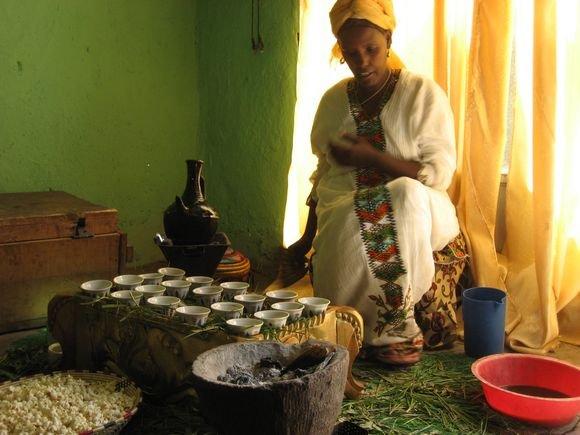 15min.lt/Ryčio Budrio nuotr./Kava kvepianti Etiopija