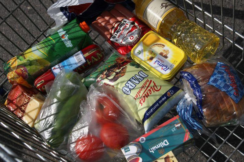 Akcijos organizatoriai kauniečius kviečia paaukoti būtiniausių maisto produktų.