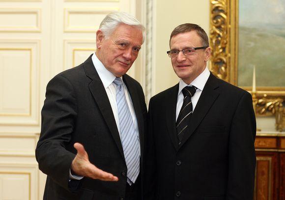 Valdas Adamkus ir Remigijus Vilkaitis