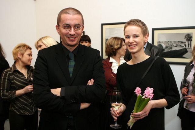 Aleksandras Pogrebnojus su drauge Salomėja
