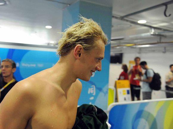 Giedrius Titenis 2008 metų Pekino olimpiadoje