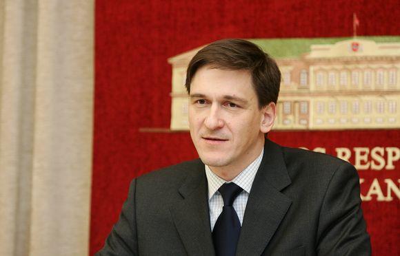 Dainius Kreivys – ūkio ministras