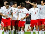 """AFP/""""Scanpix"""" nuotr./Lenkijos futbolo rinktinė"""