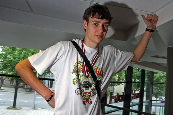 D.Motiejūnas praeitą vasarą dukart tapo Europos vicečempionu.