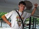 Eriko Ovčarenkos/15min nuotr./D.Motiejūnas praeitą vasarą dukart tapo Europos vicečempionu.