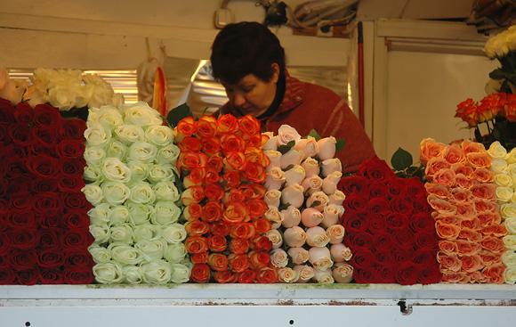 Rožių pardavėja