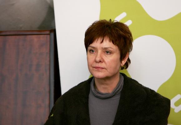 Projektą organizavusios viešosios įstaigos VEKS direktorė Elona Bajorinienė.