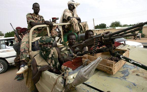 Vaikai Sudane auga pažindami tik karą.
