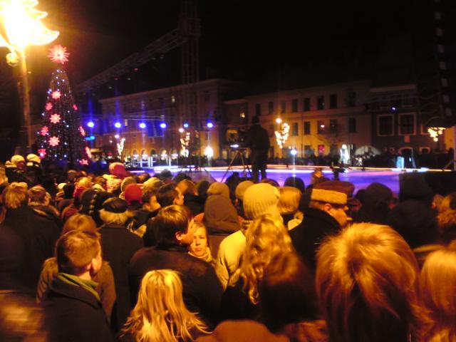 Šiemet Vilnius metus pradėjo įspūdingais renginiais.