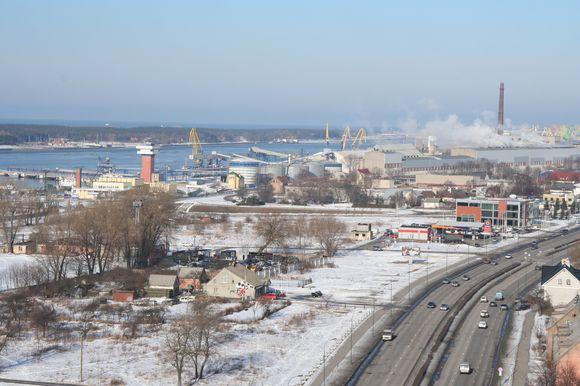 Pernai uoste perkrautas rekordinis krovinių kiekis – beveik 30 mln. tonų. Tai dešimt proc. daugiau nei prieš tai buvusiais metais.