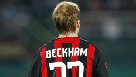 Davidas Beckhamas debiutavo Italijos klube